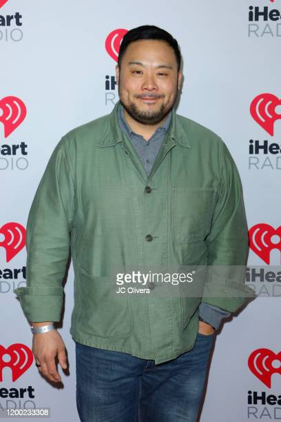 David Chang attends the 2020 iHeartRadio Podcast Awards at iHeartRadio Theater on January 17 2020 in Burbank California