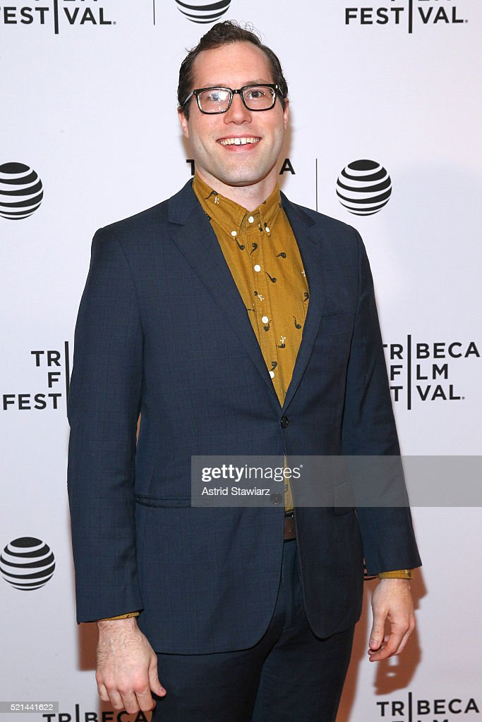 David Charles Ebert attends 'Little Boxes' Premiere - 2016 Tribeca Film Festival at Chelsea Bow Tie Cinemas on April 15, 2016 in New York City.