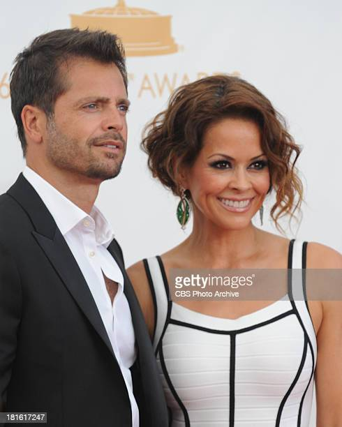 David Charvet and Brooke Burke on the red carpet for the 65th Primetime Emmy Awards which will be broadcast live across the country 8001100 PM ET/...
