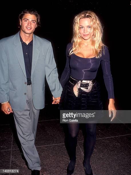 David Charvet and Pamela Anderson at the Screening of Howie Mandell's StandUp TV Special 'Howie Mandel Howie Spent Our Summer' DGA Theater West...