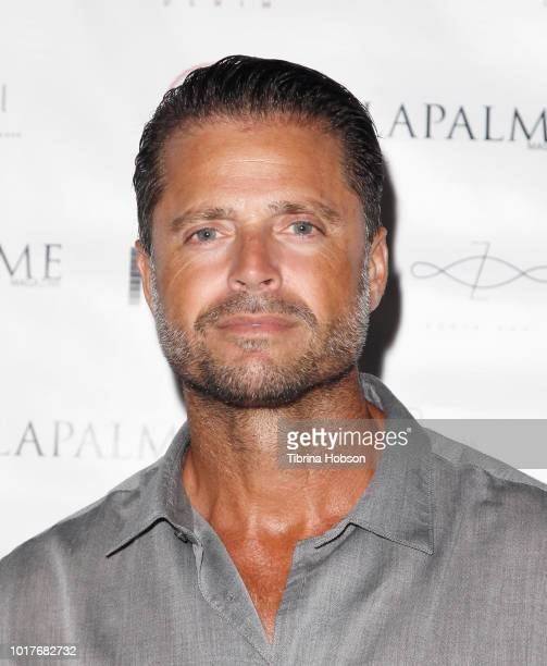David Charvet attends LaPalme Magazine and Hiptique's Indian Summer Soiree at Trancas Country Market on August 15 2018 in Malibu California