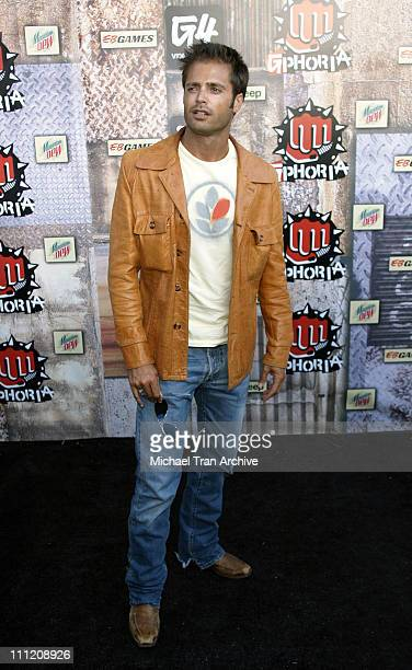David Charvet during G-Phoria 2005 -The Mother of All Videogame Award Shows - Arrivals at Los Angeles Center Studios in Los Angeles, California,...