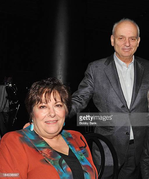 David Chase and Johanna Antonacci attends the Wounded Warrior Project Carry Foward Awards Arrivals at Club Nokia on October 10 2013 in Los Angeles...