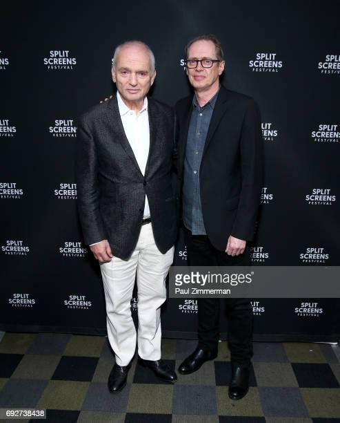 David Chase and Steve Buscemi attend the 2017 IFC Split Screens Festival Vanguard Award honoring David Chase and a screening of 'The Sopranos' season...