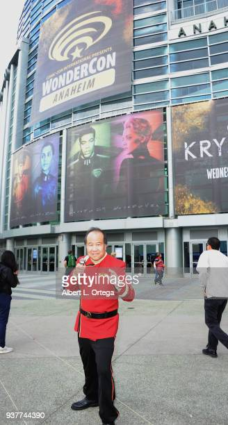 David Cheng attends Day 2 of Wonder Con 2018 held at Anaheim Convention Center on March 24 2018 in Anaheim California