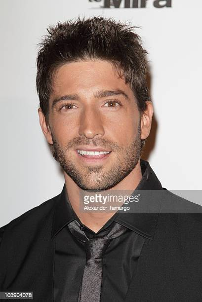 David Chocarro attends screening of Telemundo's Alguien Te Mira at The Biltmore Hotel on September 7 2010 in Coral Gables Florida