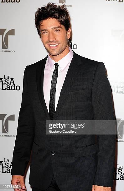 David Chocarro attends Telemundo La Casa de al Lado VIP Premiere at Mandarin Oriental on May 31, 2011 in Miami, Florida.