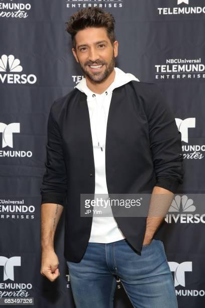 David Chocarro attends Telemundo's Al Rojo Vivo 15th Anniversary Celebration at Hammerstein Ballroom on May 15 2017 in New York City
