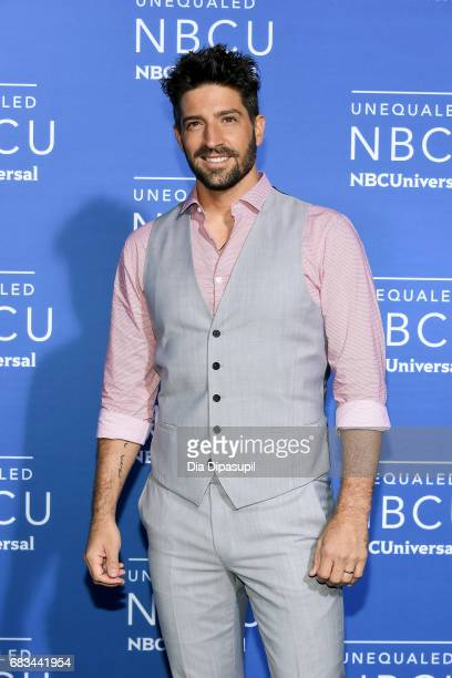 David Chocarro attends the 2017 NBCUniversal Upfront at Radio City Music Hall on May 15 2017 in New York City