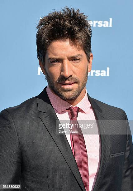 David Chocarro attends the NBCUniversal 2016 Upfront Presentation on May 16 2016 in New York New York
