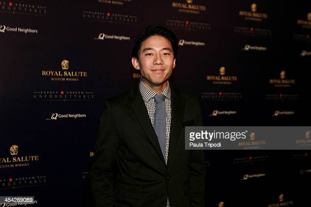 David Choi attends the 12th Annual Unforgettable Gala at Park Plaza on December 7 2013 in Los Angeles California