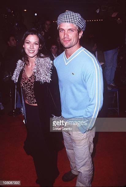 David Chokachi and Brooke Langton