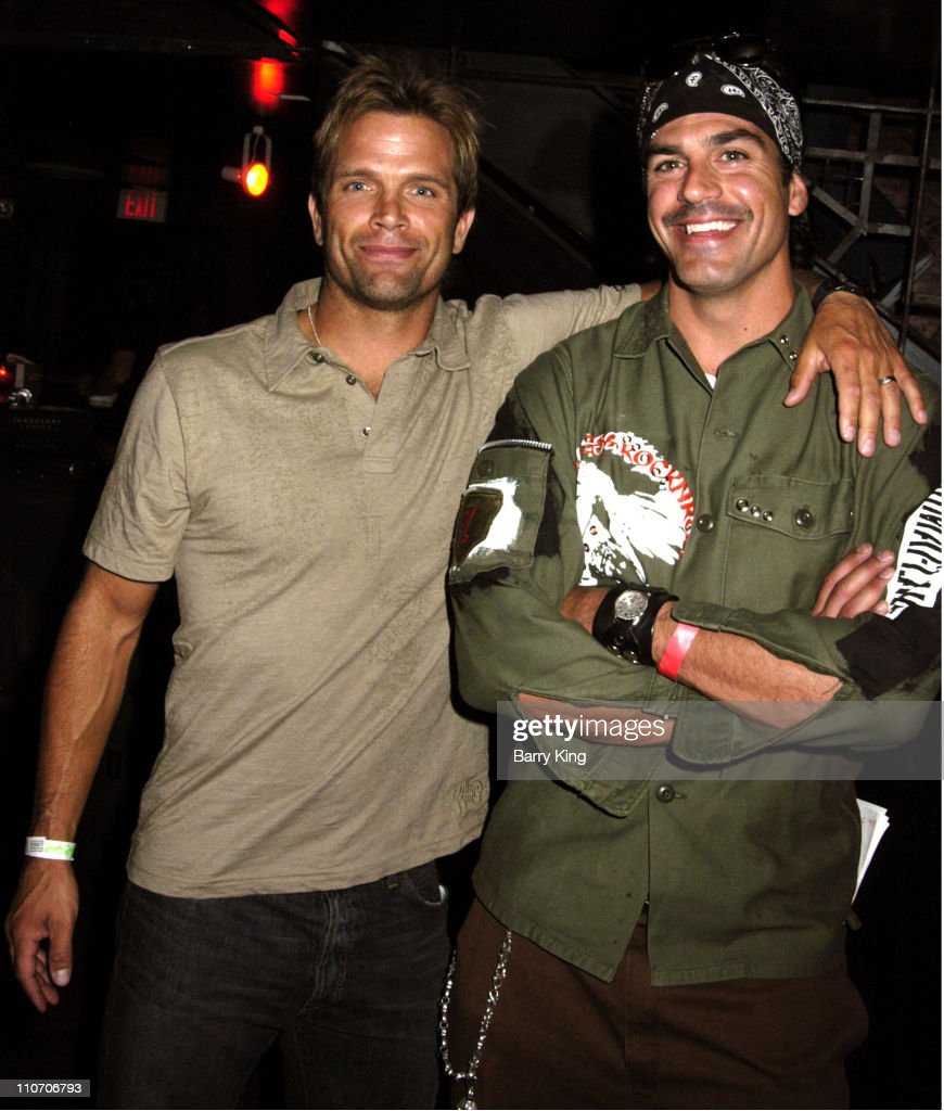 David Chokachi and Eric Etebari during Celebrate Life! Benefit Concert For American Foundation For Suicide Prevention - Red Carpet and Inside at Knitting Factory in Hollywood, CA., United States.