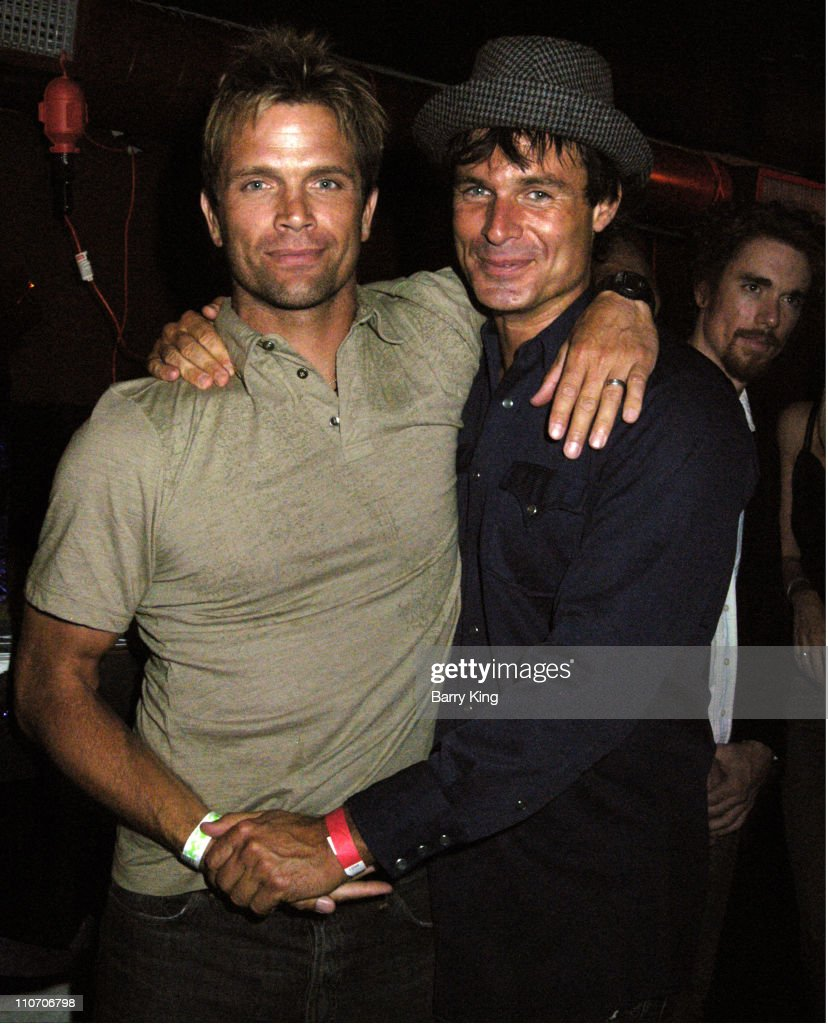 David Chokachi and Patrick Muldoon during Celebrate Life! Benefit Concert For American Foundation For Suicide Prevention - Red Carpet and Inside at Knitting Factory in Hollywood, CA., United States.