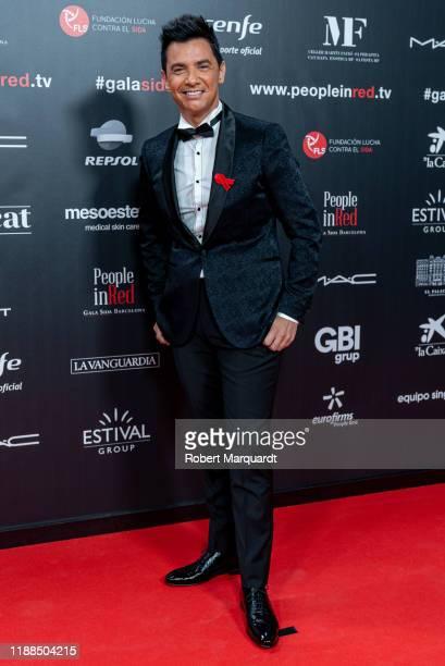 David Civera attends the People in Red gala at the Sant Jordi Clubon November 18 2019 in Barcelona Spain