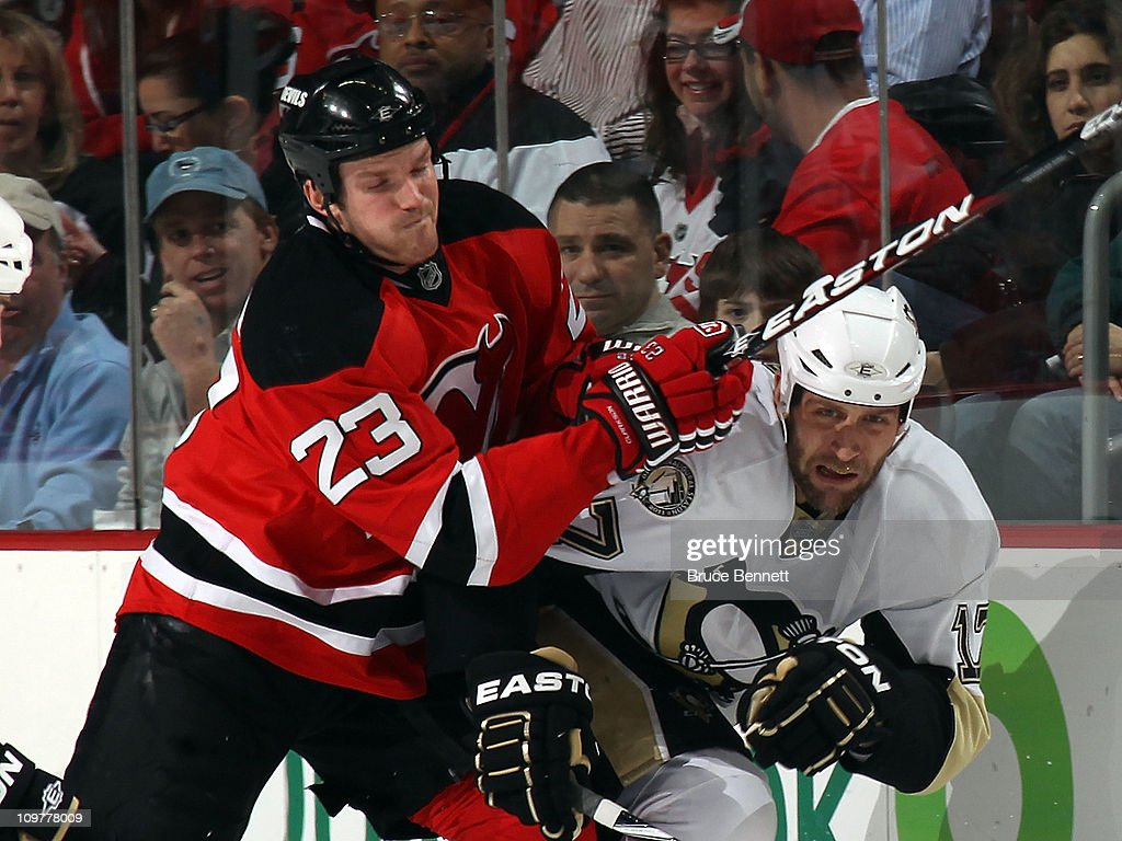 Pittsburgh Penguins v New Jersey Devils