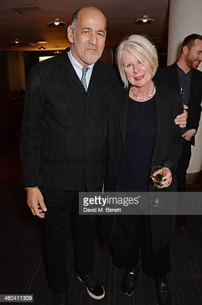 David Cohen and Betty Jackson attend the launch of the 3rd annual  Made In  Britain 028c8767b3