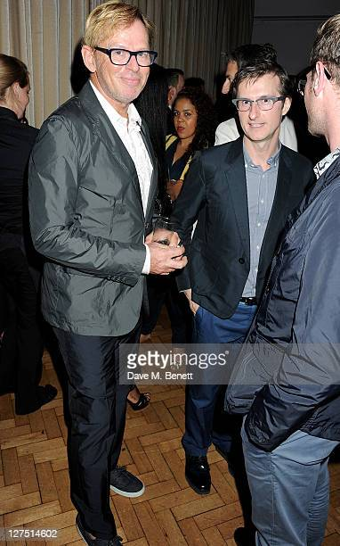 David Collins attends the Quintessentially Awards 2011 at One Marylebone on September 28 2011 in London England
