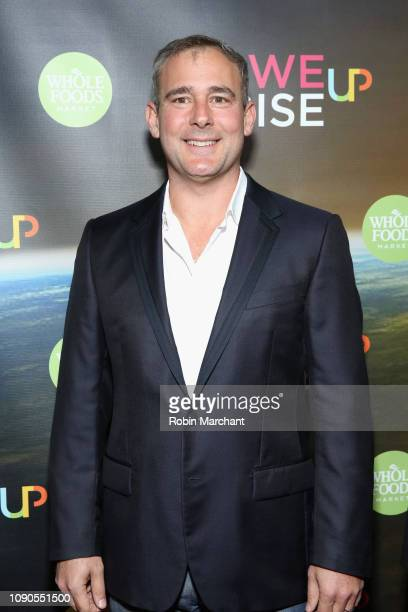 David Comfort attends the WeRiseUP Launch Event With Kevin Bacon during the 2019 Sundance Film Festival at TAO Nightclub on January 27 2019 in Park...