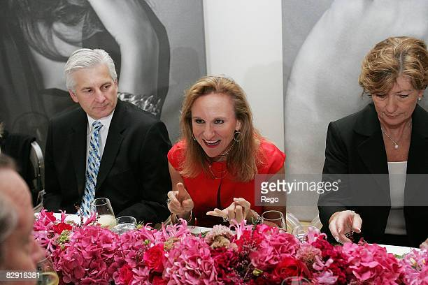 David Condon and Janie Condon attend the DY VIP Dinner Hosted by David Yurman at Nasher Sculpture Center on September 17, 2008 in Dallas, Texas.