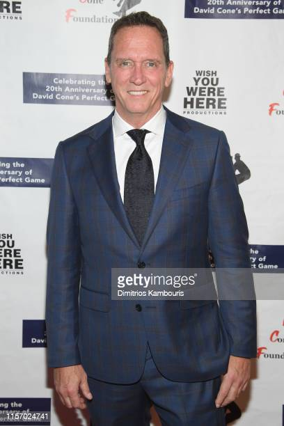 David Cone attends David Cone's 20th Anniversary of the Perfect Game on June 19 2019 in New York City