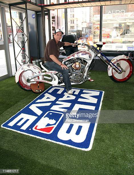 David Cone attends New Era's Stars Stripes program launch at MLB Fan Cave on May 25 2011 in New York City