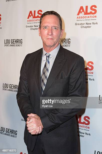 David Cone attends The ALS Association Greater New York 21st Annual Lou Gehrig Sports Awards Benefit at The New York Marriott Marquis on November 4...