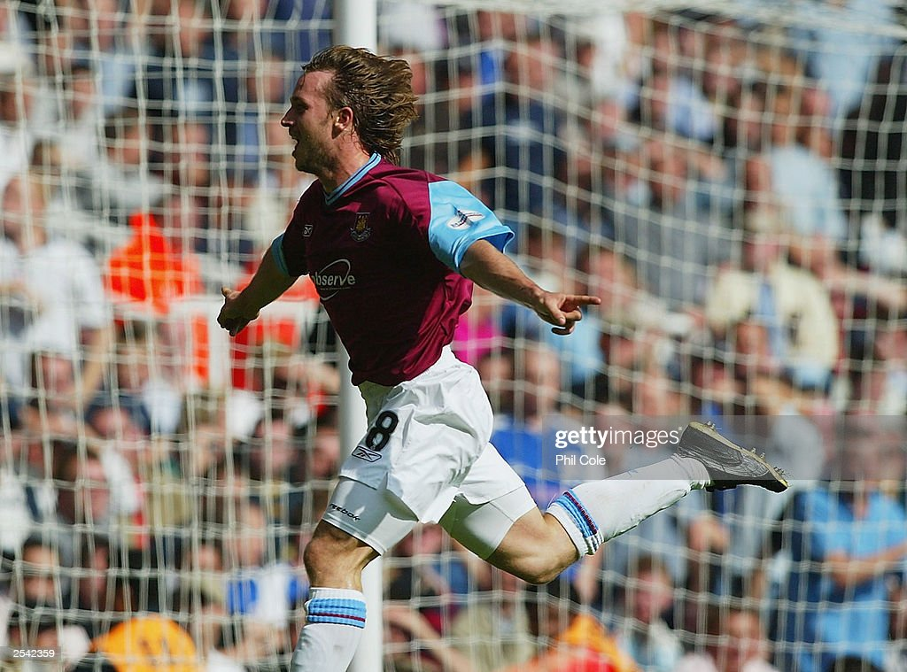 David Connelly of West Ham Scores : News Photo