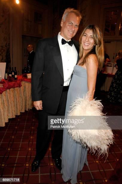 David Conrod and Nina Garcia attend The 2009 ALZHEIMER's ASSOCIATION RITA HAYWORTH GALA Themed SO NEAR YET SO FAR at Waldorf Astoria on October 27...