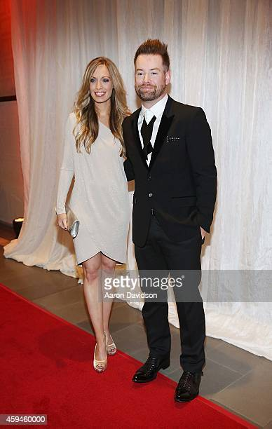 David Cook arrives at 25th Annual Chris Evert/Raymond James ProCelebrity Tennis Classic Gala Arrivals at Boca Raton Resort on November 22 2014 in...