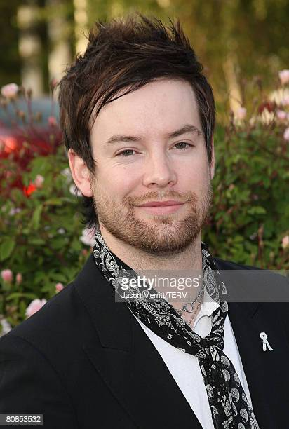 David Cook arrives to the champagne launch of BritWeek at the Consul General's Official Residence in Los Angeles, California, on April 24, 2008.?