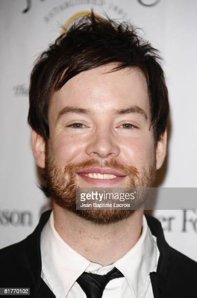 David Cook attends the TASTE FOR A CURE fundraiser for the Jonsson Cancer Center Foundation on June 21, 2008 at The Beverly Wilshire Hotel in Beverly...
