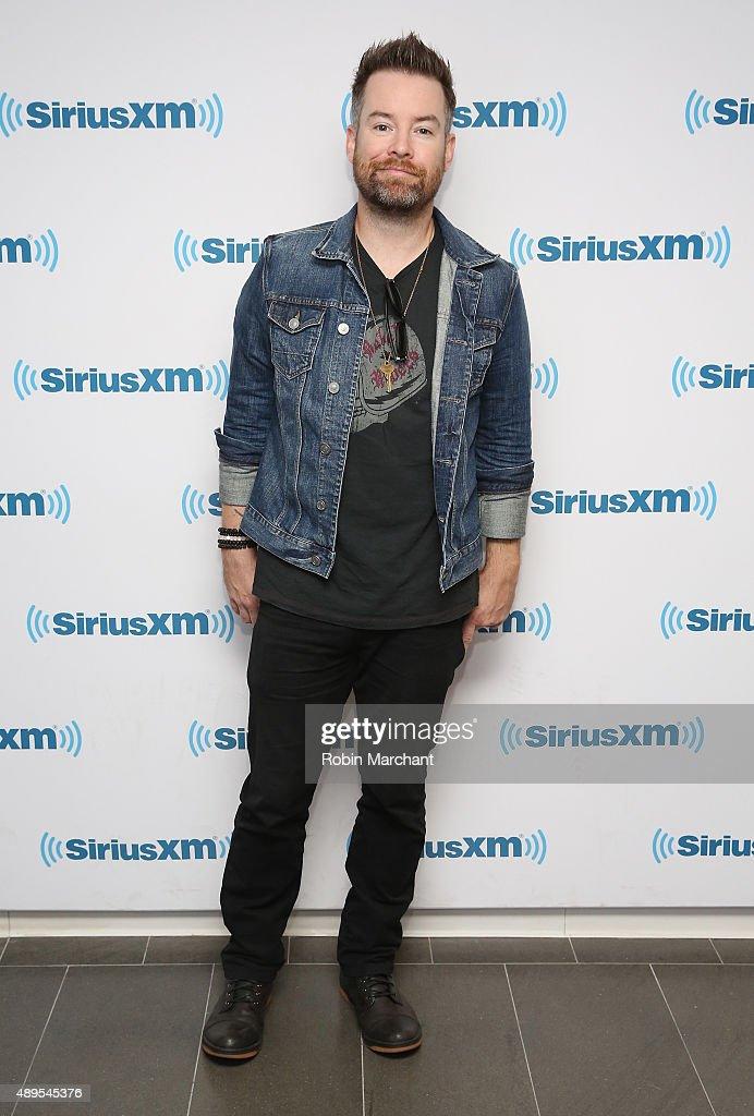 David Cook visits at SiriusXM Studios on September 22, 2015 in New York City.