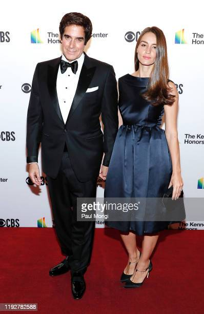 David Copperfield and Chloe Gosselin attend the 42nd Annual Kennedy Center Honors at Kennedy Center Hall of States on December 08 2019 in Washington...
