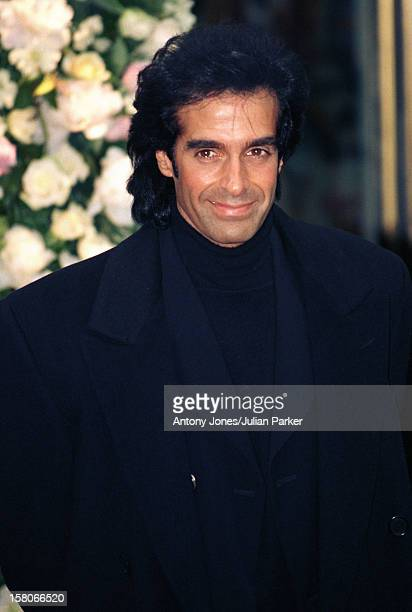 David Copperfield Attends A Gianni Versace Book Launch Party At His Store In London'S Bond Street