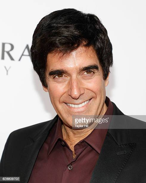 David Copperfield attends the 2016 Billboard Women in Music Awards at Pier 36 on December 9 2016 in New York City