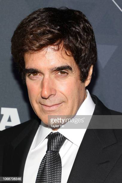 David Copperfield attends the 2018 Footwear News Achievement Awards at IAC Headquarters on December 4 2018 in New York City