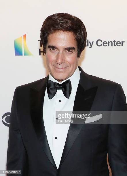 David Copperfield attends the 42nd Annual Kennedy Center Honors at Kennedy Center Hall of States on December 08 2019 in Washington DC