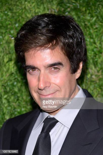 David Copperfield attends the CFDA / Vogue Fashion Fund 15th Anniversary Event at Brooklyn Navy Yard on November 5 2018 in Brooklyn New York