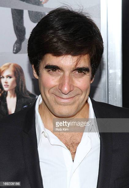 David Copperfield attends the 'Now You See Me' New York Premiere at AMC Lincoln Square Theater on May 21 2013 in New York City