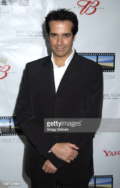 David Copperfield during Kevin Spacey's TriggerStreetcom Launches New Content Showcase at Las Vegas Convention Center in Las Vegas Nevada United...