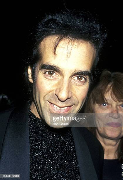 """David Copperfield during """"Magic & Music"""" Benefit for The Actors Fund of America at Sheraton NY Hilton Hotel in New York City, New York, United States."""