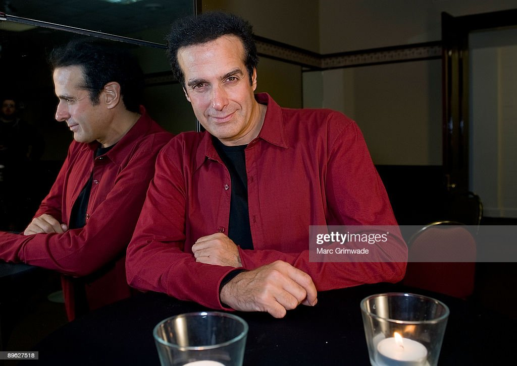 David Copperfield Tour Launch : News Photo
