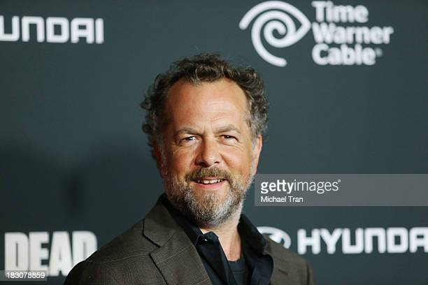 David Costabile arrives at the Los Angeles premiere of AMC's The Walking Dead 4th season held at Universal CityWalk on October 3 2013 in Universal...