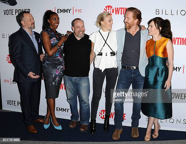 David Costabile, Condola Rashad, Paul Giamatti, Malin Akerman, Damian Lewis and Maggie Siff attend the For Your Consideration screening and panel for...