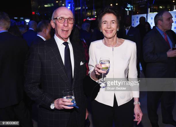 David Coulter and Ronnie Ackman attend the Winter Gala at Lincoln Center at Alice Tully Hall on February 13 2018 in New York City