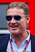 montmelo spain david coulthard attends during