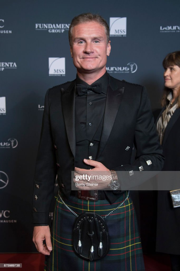 David Coulthard attends the 11th Laureus Charity Night at Hangar Duebendorf on November 18, 2017 near Zurich, Switzerland.