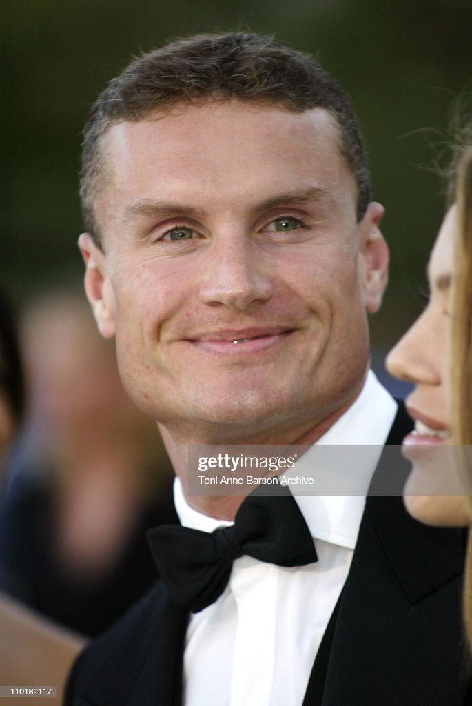 David Coulthard during 2003 Laureus World Sports Awards - Arrivals at Grimaldi Forum in Monte Carlo, Monaco.