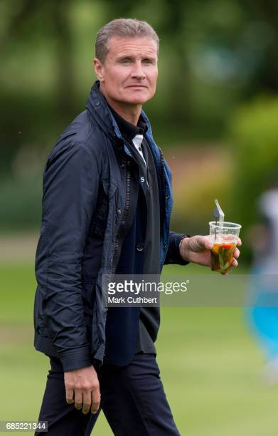 David Coulthard during the Mike Tindall Celebrity Golf Classic at The Belfry on May 19 2017 in Sutton Coldfield England